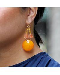 Lulu Frost - Multicolor Vintage Citrus Fancy Earrings - Lyst