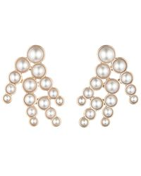 Lulu Frost | Pearl Spray Earring - White | Lyst