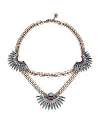 Lulu Frost | Beacon Necklace - Blue | Lyst