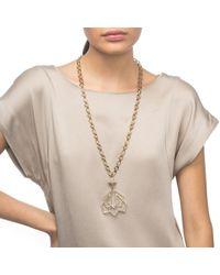 Lulu Frost - Metallic Portico Pendant Necklace - Lyst