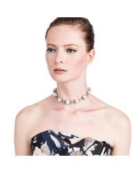 Lulu Frost - Pink Electra Necklace - Lyst