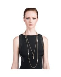 Lulu Frost | Multicolor Sequence Messenger Necklace | Lyst