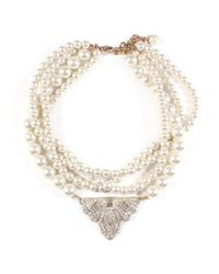 Lulu Frost | Metallic *vintage* One-of-a-kind Necklace 8 | Lyst