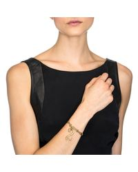 Lulu Frost | Metallic Plaza Number Bracelet - Diamond Chain | Lyst