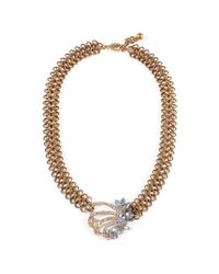 Lulu Frost | Metallic *vintage* Snake Chain Necklace | Lyst
