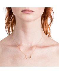 Lulu Frost - Metallic Zodiacs Scorpio + Water Necklace - Lyst