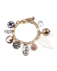 Lulu Frost | Metallic *vintage* Charm Bracelet #3 | Lyst