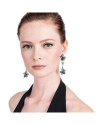 Lulu Frost - Black Claudine Earring - Lyst
