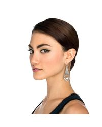 Lulu Frost - Metallic Lucent Earring - Lyst