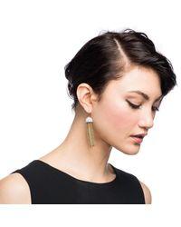 Lulu Frost | Metallic Ursula Tassel Earring | Lyst