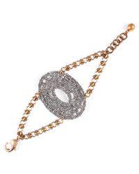 Lulu Frost - Metallic Vintage Cut-steel Bracelet 9 - Lyst