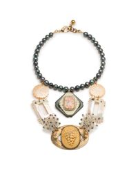 Lulu Frost - Metallic *vintage* 100 Year Necklace 2 - Lyst