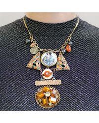 Lulu Frost - Metallic *vintage* 100 Year Necklace - Lyst