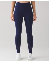 247fe02370 Lyst - lululemon athletica Hot Like Agni Pant in Blue