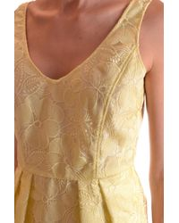Armani - Yellow Armani Collezioni Dress - Lyst