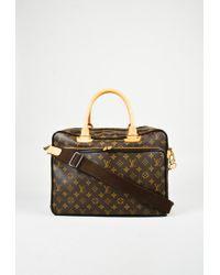 0ae33748d7d3 Louis Vuitton. Women s Brown Monogram Canvas   Leather