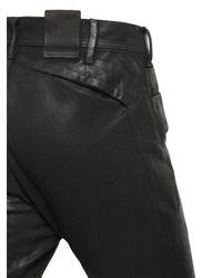 Julius - Black 16cm Patchwork Coated Canvas Pants for Men - Lyst