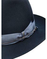 Borsalino - Blue 50gr Lightweight Fur Felt Hat for Men - Lyst