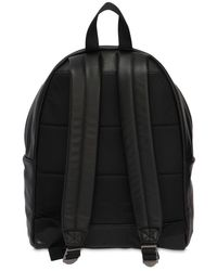 Eastpak - Black 24l Padded Pak'r Leather Backpack - Lyst