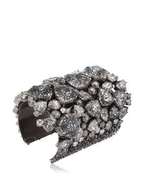 On Aura Tout Vu Black Patina Cuff Bracelet