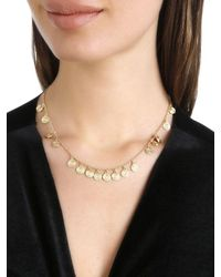 Elizabeth and James - Metallic Reeves Necklace - Lyst