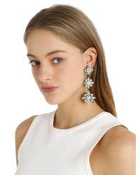 Ellen Conde - Metallic Brilliant Jewelry Crystal Earrings - Lyst
