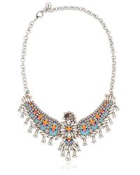 Shourouk - Blue Phenix Necklace - Lyst