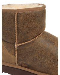 Ugg - Brown Mini Classic Bomber J. Boots for Men - Lyst