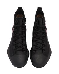 Y-3 Black James Harden Bashyo High Top Sneakers