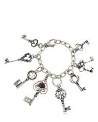 Alcozer & J | Metallic Le Chiavi Della Dimora Bracelet | Lyst
