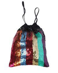 Attico | Multicolor Rainbow Sequined Pouch | Lyst