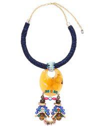 Anita Quansah London - Blue Ona Necklace - Lyst