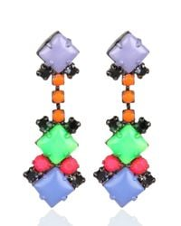 Tom Binns | Multicolor Electro Clash Nova Earrings | Lyst