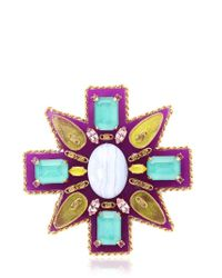Erickson Beamon - Multicolor Girls On Film Pin - Lyst