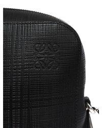 Loewe - Black Goya Thin Saffiano Leather Briefcase - Lyst