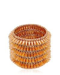Philippe Audibert - Pink Uma Cuff Bracelet - Lyst