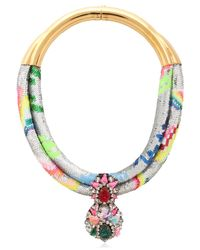 Shourouk - Multicolor Double Zulunecklace - Lyst