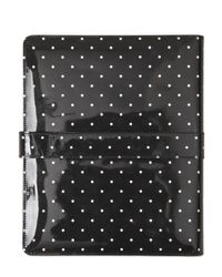 Dolce & Gabbana - Black Polka Dot Patent Leather Tablet Case - Lyst