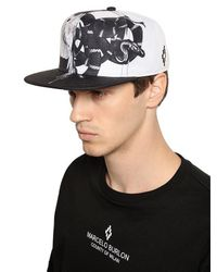 Marcelo Burlon - Black Starter Snake Wing Baseball Hat for Men - Lyst