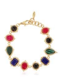 Isharya | Metallic Rani Rocks Bracelet | Lyst