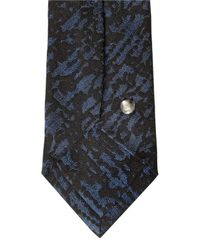 Title Of Work - Black 6.5cm Hand-beaded Silk Jacquard Tie for Men - Lyst