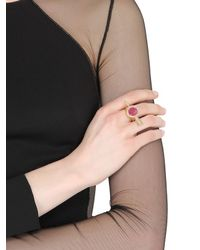 Jade Jagger - Metallic Arrow Ring - Lyst