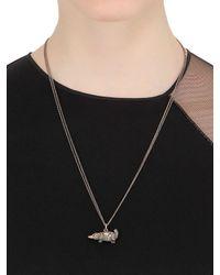 Bibi Van Der Velden - Metallic Platypus Necklace - Lyst