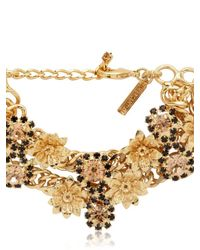 Mercantia - Metallic Lux Flower Bracelet - Lyst