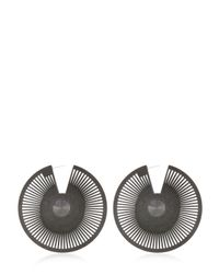 Vojd Studios | Black Phase Statement Earrings | Lyst