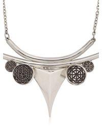Meadowlark - Metallic Thorn Necklace - Lyst