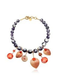 Valentina Brugnatelli | Orange Tatiana Prune Necklace | Lyst