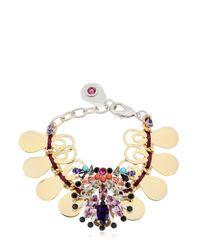 La Perla | Metallic Mandala Bracelet | Lyst
