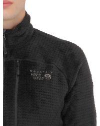 Mountain Hardwear - Black Monkey Man Grid Ii Fleece Jacket for Men - Lyst