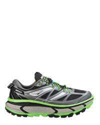 Hoka One One - Black Mafate Speed Trail Running Sneakers - Lyst